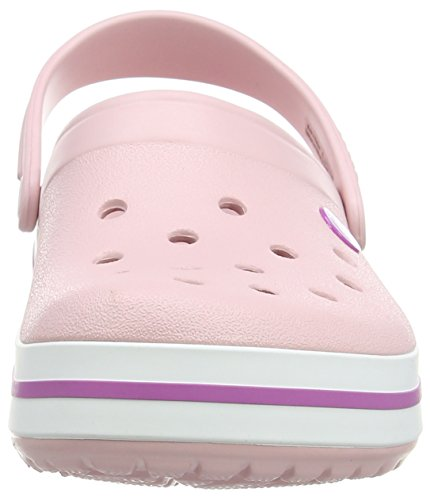 Crocs Crocband - Sabots - Mixte Adulte Rose (Pearl Pink/Wild Orchid)