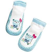 Deanyi Baby Kleinkind Socken Karikatur Tiersäugling Anti Skid Anti Rutsch Socken Boden Nette Socken |14CM L Bär Baby Produkt