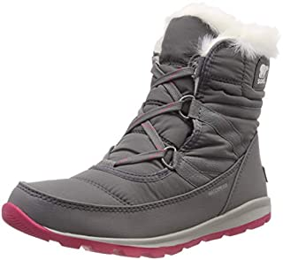 Sorel Women's Whitney Short Lace Snow Boots, Pink, (Quarry, Bright Rose) , 7 UK(40 EU) (B07741BXXS) | Amazon price tracker / tracking, Amazon price history charts, Amazon price watches, Amazon price drop alerts