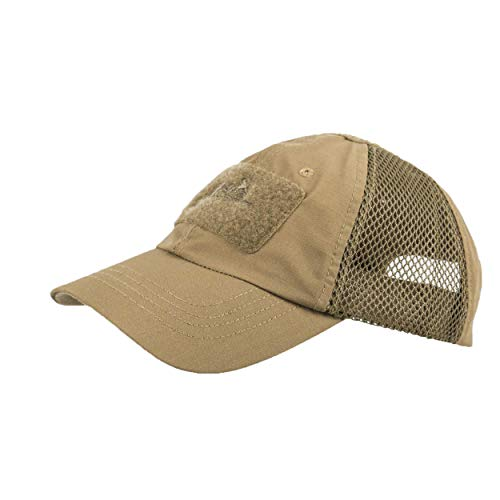 Helikon-Tex Baseball Vent Cap - Polycotton Ripstop - Coyote (Top Vent Front)