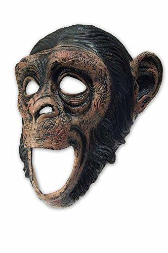 Special-FX Maske Affe Schimpanse Gorilla - beweglicher Mund / Moving Mouth - hochwertige Latexmaske für Halloween, Fasching, Karneval & (Fx Masken Halloween)