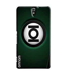 Omnam Ioi Ball With Green Base Printed Designer Back Cover Case For Sony Xperia C5