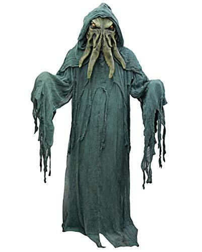 Horror-Shop Cthulhu Kostüm mit Latex Maske One Size / Erwachsenen ()