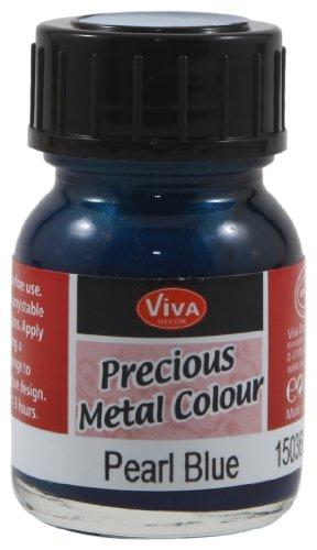 Viva Decor Flüssiges Edelmetall 25ml -Perlgrau-