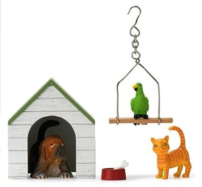 Lundby 83.2002.00 - Juego de animales domésticos Gotland para casa de muñecas [importado de Alemania] de Lundby