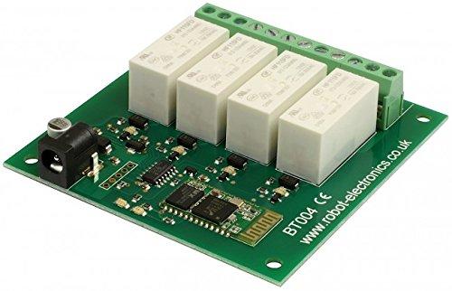BT 004-4 x 16A Rel� Bluetooth
