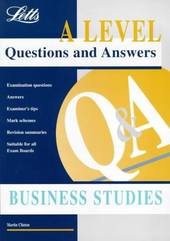 A Level Questions and Answers: Business Studies