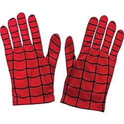 Spiderman Guantes, talla Única (Rubie's 35631)