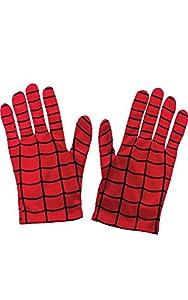 Spiderman - Guantes para disfraz de niño, talla Única (Rubie
