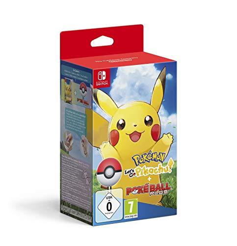 Pokémon: Let's Go, Pikachu! + Poké Ball Plus - Bundle...