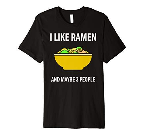 I Like Ramen Tshirt Kawaii Japanese Noodle Food Anime Gift (Halloween Kawaii Charms)
