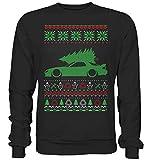 glstkrrn clothing RX7 RX-7 FD Ugly Christmas Sweater