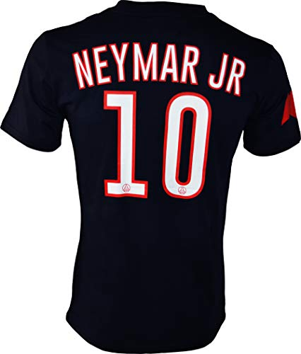 5293ddd596 Paris Saint Germain PSG – Neymar Jr – Camiseta Oficial, Hombre, Azul, Medium