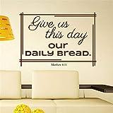 wandaufkleber kinderzimmer sterne Gib uns heute unser tägliches Brot