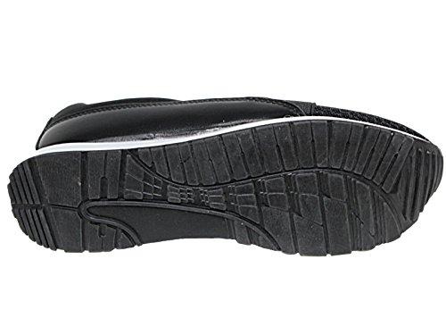 Foster Footwear , Bottes Classiques fille mixte enfant femme garçon black/mesh