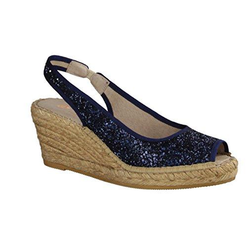 Macarena ana26-Scarpe da donna scarpa/Sling, Blu, blu (Blau), 40 EU
