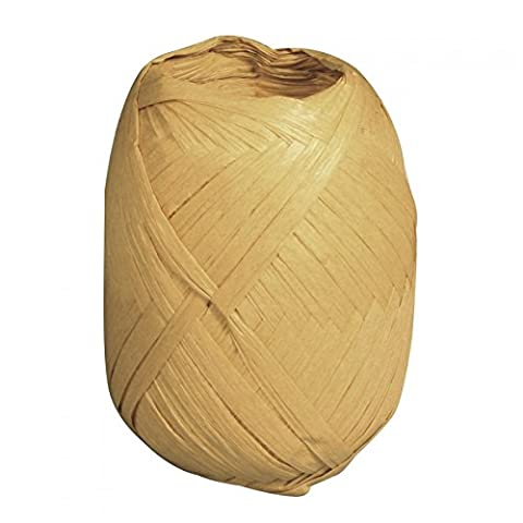 Rayher Hobby 52002505 Fibre de bois 100% fil en raphia