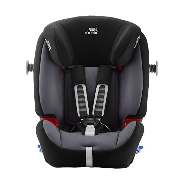 Britax Römer MULTI-TECH III Car Seat (9 Months-6 Years | 9-25 kg), Storm Grey Britax Römer This MULTI TECH III will come in a Blue Marble design cover which is made from a more premium fabric with extra detailing Enhanced side impact protection - the SICT feature offers High quality protection to your child in the event of a side collision Extended rearward facing - rearward facing car seats offer the best protection in the event of a frontal collision - the most frequent type of accident on the roads 6