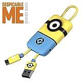 Cavo Micro USB Minion (22 cm) - Trasmissione Dati e Ricarica per Android - Originale Minions, Tribe CMR32100