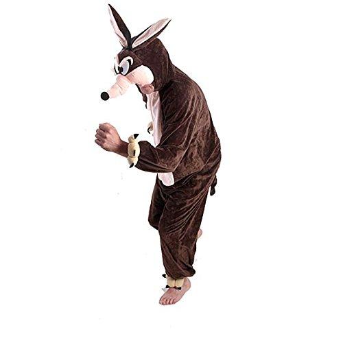 Kostüme PLÜSCH Coyote 180cm (Kostüme Coyote)