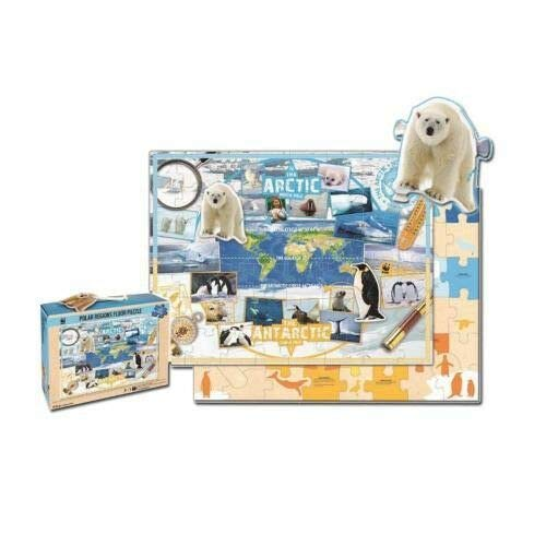 FidgetGear WWF Kinderpuzzle Polarregionen (48 Teile) Neu & OVP as picture show One