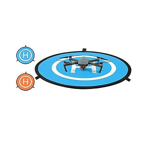 Meijunter Pliable Mini Atterrissage Coussinet Héliport pour DJI Phantom 2/3/4 Inspire Mavic Pro Drone