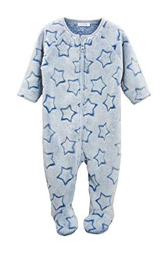 next Baby - Jungen Fleece-Schlafanzug Mit Sternenprint Blau 1.5-2 Jahre - 2 Stück Fleece-schlafanzug