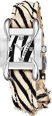 Charriol Women's 32mm White Calfskin Band Swiss Quartz Watch KUCHCS.237.KCS003