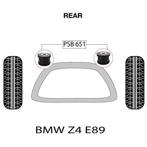 PSB Bush Z4 E89 3 Series (09-17) Kit de bagues avant pour sous-cadre arrière PSB651