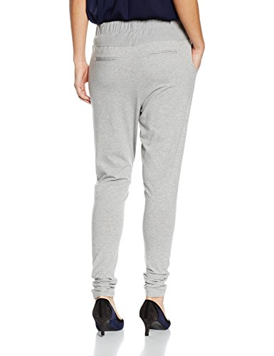 Kaffe Damen Hose Jillian Pant Grau (Light Grey Melange 50013)