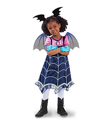 ZXYSHOP Prinzessin Vampir Kostüm Kind Little Devil Dress - Schickes Halloween Vampir Kostüm Für Kinder (Märchen Hexe Samt Kind Kostüm)