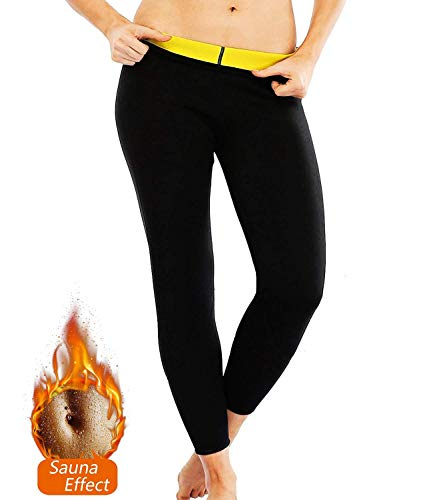 Schlanker Kostüm Mann - NOVECASA Weste Gewichtsverlust Suana/Hosen Mann Neopren Kostüme Shorts Body Shaper Schwitzen, Fettverbrennung für Fitness Yoga (3XL, Hosen)