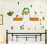 Jardín Sala de estar Dormitorio Extraíble Muebles autoadhesivos Puerta de la ventana Pegatinas de pared Decoración de la pared Poster Mural Dc18