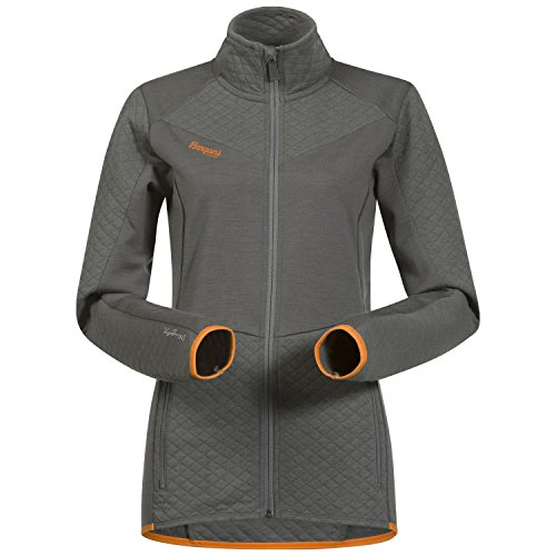 Nordic Womens Jacket (Bergans Middagstind Lady Jacket - Merino Fleecejacke)