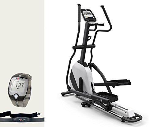 Horizon Fitness Andes 3 Elliptical Ergometer - inkl. FT1 Polar Pulsuhr und Brustgurt