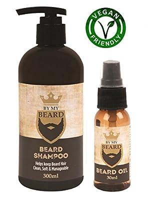 By My Beard Shampoo and Beard Oil Set