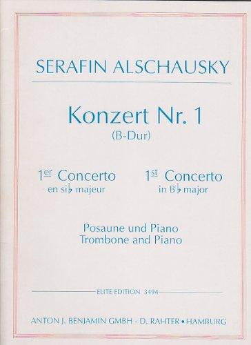 SIMROCK ALCHAUSKY SERAPHIN - KONZERT NR.1 (B-DUR) Klassische Noten Posaune