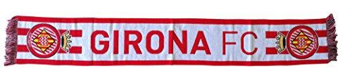 Girona FC Bufgir Bufanda Telar, Rojo / Blanco, Talla Única