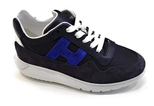 HOGAN Bambino Sport Bambino HXC3710AP30KK6 Blu Sneaker Estate 35