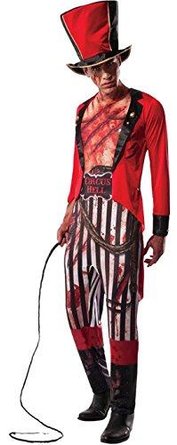 erdbeerloft - Herren Karneval Halloween Kostüm Lion Tamer, Rot, Größe M/L (Dompteur De Lion Kostüm)