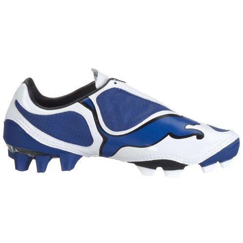 Puma V1.08 FG Garçons Bottes de football blue
