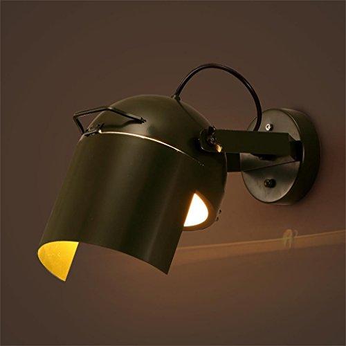 HOME UK-Wandlampe kreative Wachen Cafe Restaurant Bar Persönlichkeit dekorative Lampen Kappe, Schmiedeeisen Wandleuchte Gang Sonde