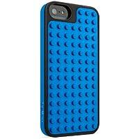 Belkin Lego Bastel-Schutzhülle (geeignet für Apple iPhone 5) schwarz/blau