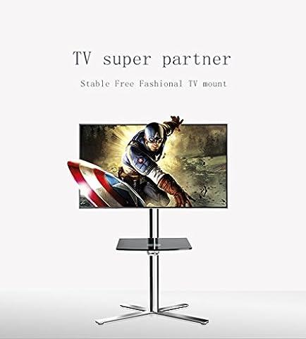 Fashional Mobile TV Floor Carts pour écran LCD LED Plasma écrans plats Stand avec Fit for 32