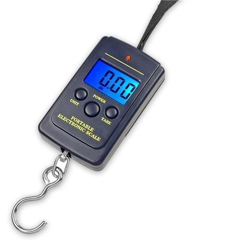 Color:40kg x 10g Esta balanza digital colgante portátil puede facilitar la pesaje de tus paquetes y equipajes, soporta un peso máximo de 40kg.Una herramienta útil para horgar, viaje y actividades al aire libre.Especificación:.Capacidad: 10g - 40kg;Pr...
