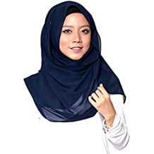 1df55b9df5dc SAFIYA - Hijab pour femmes musulmanes voilées I Foulard voile turban  écharpe pashmina châle robe islamique
