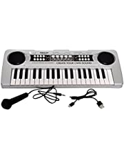 Toyshine 37 Keys Piano,with DC Power Option, Microphone, Recording and Frustration-free Dual Packaging