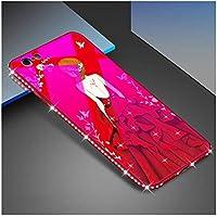 iPhone 8 Hülle,iPhone 7 Gehärtetes Glas Hülle, Katech Bling Glitzer Diamant Strass Crystal Rhinestone Weiche Rahmen... preisvergleich bei billige-tabletten.eu