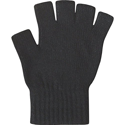 Romano Women's Super Soft Warm Fine Knit Thermal Fingerless Winter Gloves