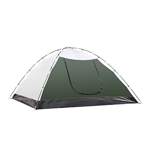 41Y9mk076dL. SS500  - Semoo Lightweight 3-Season Camping/Traveling Tent Double Layer, 3-4 Person Waterproof Dome Tent with Carry Bag